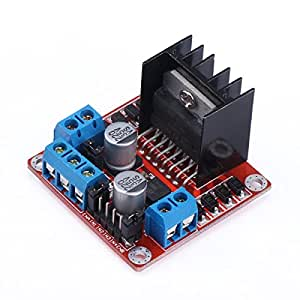 Josyoo l298n motor drive controller board dc for Smart drive motor controller