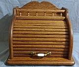 Roll Top Bread Box (Dark Oak)