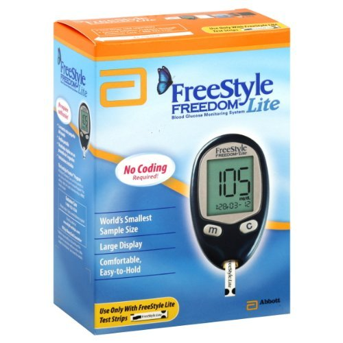 Freestyle Freedom Lite Blood Glucose Monitoring System Personal Healthcare / Health Care