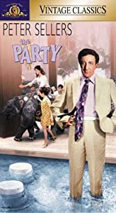 the party vhs peter sellers claudine. Black Bedroom Furniture Sets. Home Design Ideas