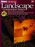 Ortho's All About Landscape Construction Basics (0897214374) by Ortho Books