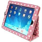 Kyasi Seattle Classic-iPad Case for iPad 2,3 or 4 Cha Cha Pink Polka Dots