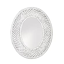 Home Locomotion Mosaic Sparkle Wall Mirror