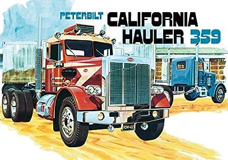 AMT 1:25 - Peterbilt 359 California Hauler - A-AMT866