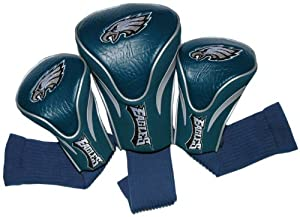 NFL Philadelphia Eagles 3 Pack Contour Fit Headcover by Team Golf