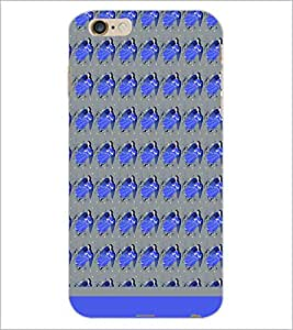 PrintDhaba Girl Pattern D-1908 Back Case Cover for APPLE IPHONE 6S PLUS (Multi-Coloured)