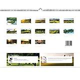 Golfkalender 2016 - Rückseite (Greenfee Gutscheine)