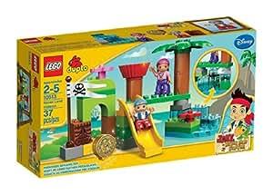 Lego Duplo Jake et les Pirates du Pays Imaginaire - 10513 - Jouet de Premier Age - La Cachette du Pays Imaginaire