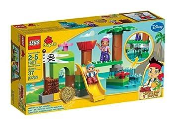LEGO - A1304488 - La cachette du Pays Imaginaire - Jake et les Pirates - DUPLO
