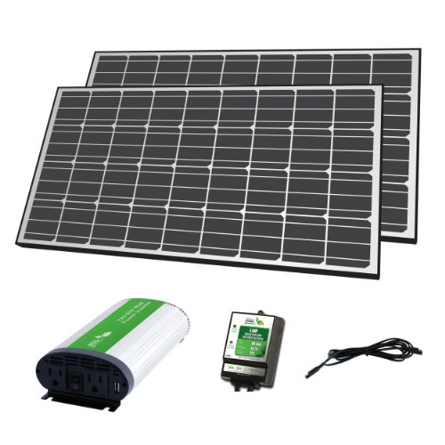 Nature Power 57003 Mono Crystalline Off-Grid Solar Panel Kit