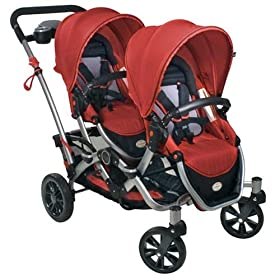 Kolcraft Contours Options Tandem Plus Stroller