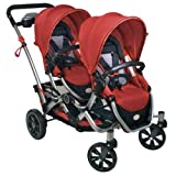 Kolcraft Contours Options Tandem Stroller, Ruby