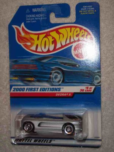 2000 First Editions #5 Deora 2 Without HW Logo #2000-65 Collectible Collector Car Mattel Hot Wheels 1:64 Scale