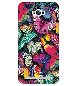 ASUS ZENFONE MAX BUTTERFIES Back Cover by PRINTSWAG