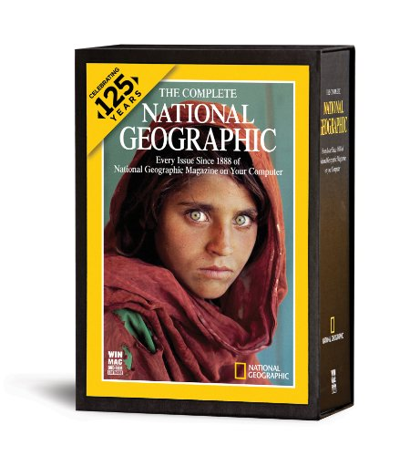 The Complete National Geographic - 125 Years (1888 - 2012) (Book Collection Software compare prices)