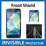 Samsung Galaxy A5 Front INVISIBLE Screen Protector Film (Front Shield included) Military Grade Protection Exclusive to ACE CASE