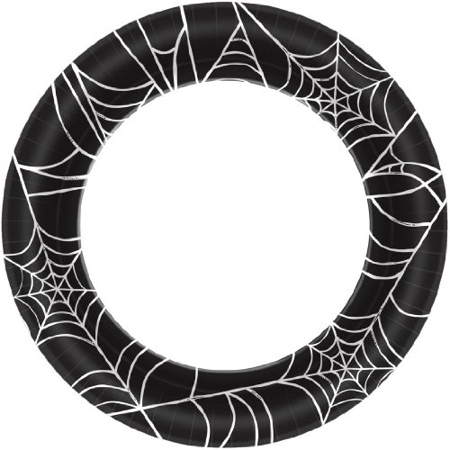 Spider Webs Dinner Plates (40ct)