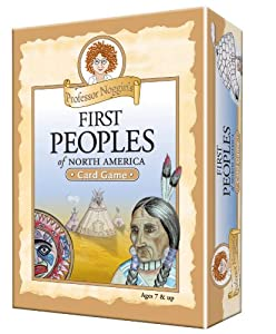 Educational Trivia Card Game - Professor Noggin's First Peoples of North America