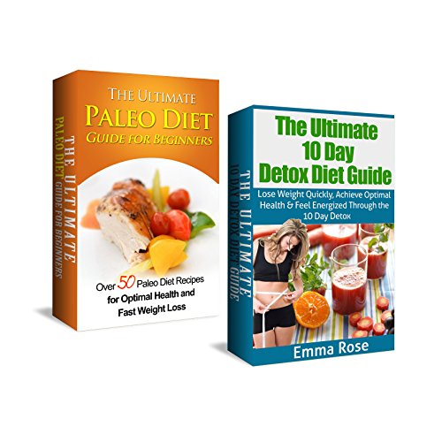 Paleo Diet & 10 Day Detox Diet Box Set: Over 50 Paleo Diet Recipes For Optimal Health, Fast Weight Loss, & Boosted Energy Through The 10 Day Detox & Gluten ... 10 Day Detox Diet, Paleo Smoothies, Detox)