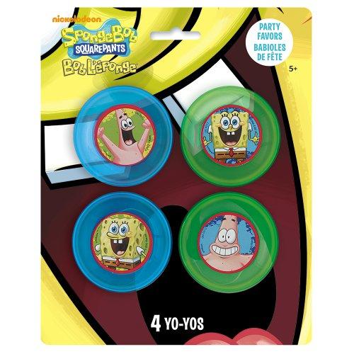 SpongeBob SquarePants Yo-Yos, 4ct - 1