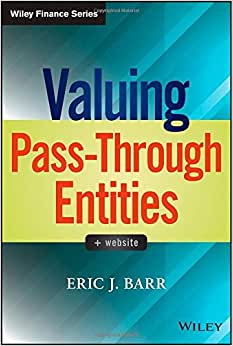Valuing Pass-Through Entities (Wiley Finance)