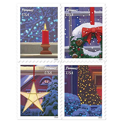 usps-holiday-windows-forever-stamps-book-of-20