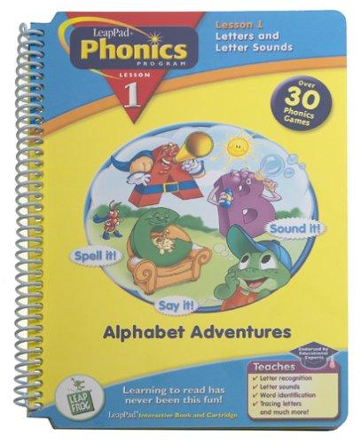 Leap Frog Phonics Book , Alphabet Adventures - 1