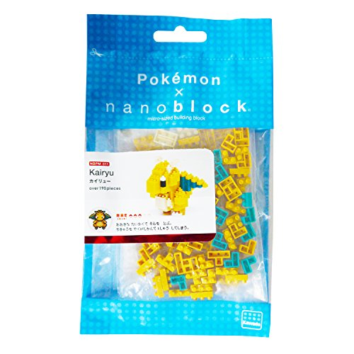 nanoblocks Nbpm011 Nb- Dragonite - Pokemon Building Kit
