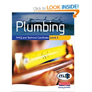 Plumbing Nvq And Technical Certificate Level 3 Student