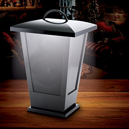 Great Deal! Fine Life Audio Products Wireless Indoor Outdoor Speaker Lantern with LED Lights Bluetoo...