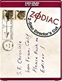 Cover art for  Zodiac (Two-Disc Director's Cut) [HD DVD]