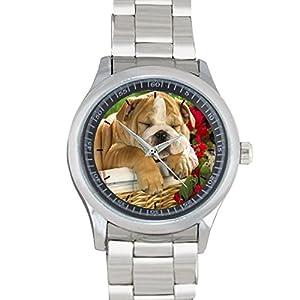 CUTE DOG FILGO099 Stainless Steel Wrist Watches