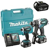 18V Cordless Li-Ion Cordless Kit with 3 x 4Ah Batteries - Makita DLX2005M