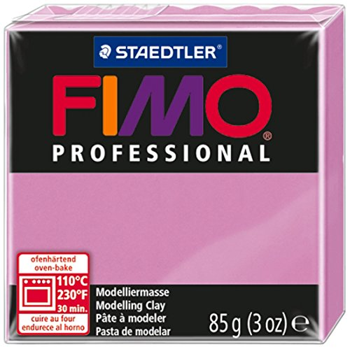Staedtler Fimo Professional Soft Polymer Clay, 3-Ounce, Lavender 24pcs air clay fimo polymer plasticine modelling clay light diy soft creative handgum toys diy plasticine clay learning toys