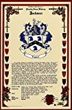 Cassidy Coat of Arms, Family Crest and Name History - Celebration Scroll 11x17 Portrait - Ireland Origin