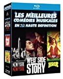Les Meilleures com�dies musicales en haute d�finition : New York, New York + West Side Story + Hair [coffret 3 Blu-ray]