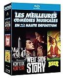 Les Meilleures com�dies musicales en haute d�finition : New York, New York + West Side Story + Hair [coffret 3 Blu-ray]