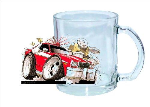 STARSKY & HUTCH Koolart Personalised CLEAR GLASS Mug 1580