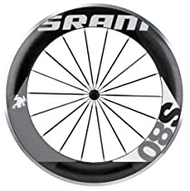 SRAM S80 700C FR Clincher (Black with Grey Decals, 80mm)