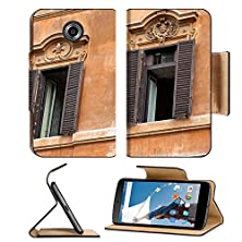 buy Msd Motorola Google Nexus 6 Flip Pu Leather Wallet Case Old Windows At Spanish Steps In Rome Image 20181569