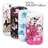 4x SET SAMSUNG GALAXY S3 mini i8190 Silikon Schutz Handy Tasche Etui Case Hülle Cover