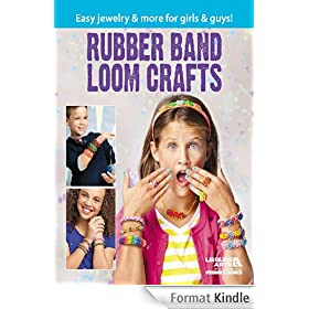 Rubber Band Loom Crafts (English Edition)