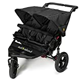 Out n About Nipper Double v4 Stroller Raven Black