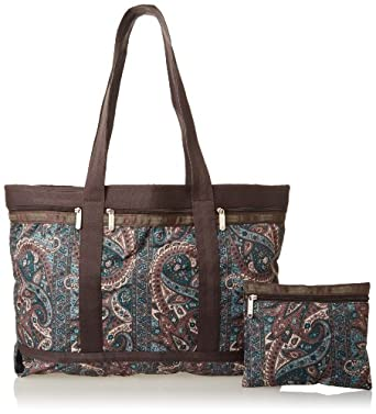LeSportsac Travel Tote Handbag,Varanasi,One Size