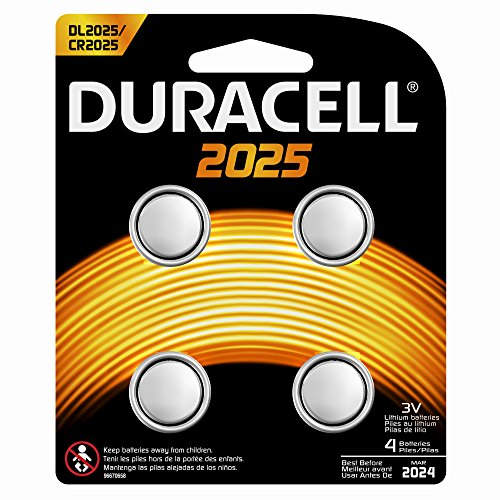 DURACELL Blister de 4 piles 2025 lithium