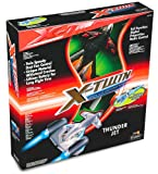 Silverlit X-Twin Pro Thunder Jet 2-Channel Radio Control Aeroplane (Colour and Frequency Varies)