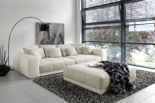 Außergewöhnliches XXL Sofa Big SAM in Trendfarbe Greige thumbnail