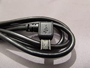 USB cable for TOMTOM GPS with 90° Plug to Power & connect to a PC over USB for Tom Tom Navigation Series ONE XL Europe HD Traffic Regional, Go Serien 520 Go 720 Go 740 750 940 950 Go 920 Live XL XL LIVE IQ Routes...