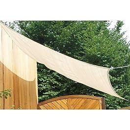 Floracord 06-77-25-00 - Vela de sombra para patio, beige