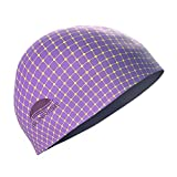 Amethyst Sunrise Swimcap, Medium/Purple